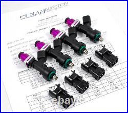 Acura BOSCH 1000cc EV14 Fuel Injectors OBD2 D16 D15 D Series Honda Civic Integra