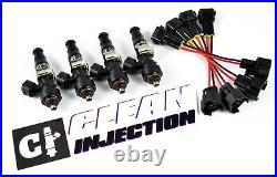 BOSCH 2000cc Fuel Injectors OBD2 B16 B18 B D Series Honda Acura Civic Integra