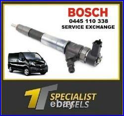 Bosch 0445110338 Renault Trafic 2.0 DCI 1 Year Warranty M9r 786