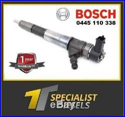 Bosch 0445110338 Trafic Vivaro 2.0dci 12 Mth Warranty M9r 786 Next Day Del