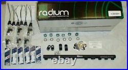 Bosch 2200cc injectors / Radium fuel rail kit 1993-98 Supra turbo 3.0 2JZ-GTE