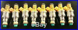Bosch Fuel Injector Set 1989-1992 Chevrolet Corvette 5.7L L98 22lb flow