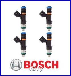 Bosch Genuine 0280158117 EV14 EV6 52lb 550cc Fuel Injectors X4 VW VAG AUDI EVO X