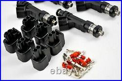 Brand New Toyota Supra 7mgte 7mge turbo Bosch ev14 600cc fuel injectors e85