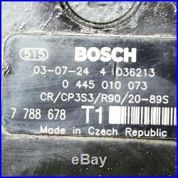 Einspritzpumpe Hochdruckpumpe 0445010073 7788678 BMW E60 530 36 Monate Garante