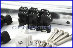 Fit Nissan 300zx Z31 650cc fuel injectors 1984-1989 VG30 VG30ET VG30DE VG30E BLU