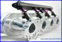 Fits SR20DET S14 S15 Bosch ev14 fuel injectors 1000cc intake manifold rail kit