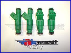 Flowmatched TRE 42lb Fuel Injectors Bosch E30 S14 M10 Turbo DOHC 440cc/min TT 4
