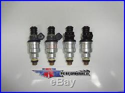 Flowmatched TRE 440cc Fuel Injectors Wide Bosch E30 S14 M10 Turbo DOHC 42lb TT 4