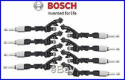 For Land Rover LR4 Jaguar XF V8 V6 5.0 Set of Eight Fuel Injectors Bosch OEM