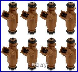 For Mercedes R129 W124 W163 W209 W219 BOSCH Fuel Injector Set of 8 0 280 156 016