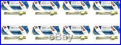 For Mercedes Set of 8 Fuel Injectors Genuine Bosch 000 078 56 23/0 437 502 04