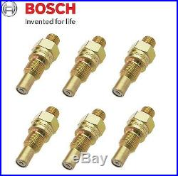 For Mercedes W108 W113 Set of 6 Fuel Injector Nozzles 0437004002 Bosch NEW