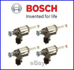 For Mini Cooper S Countryman Paceman JCW Set of Four Fuel Injectors OEM Bosch
