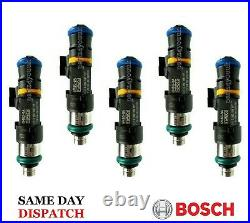 Ford-Focus 2.5T RS ST225 Genuine Bosch 550cc Fuel Injectors Set of 5 / FoMoCo
