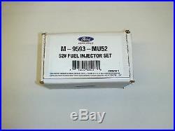 Ford Racing Performance EV14 52lb 52# Bosch fuel Injectors MU52