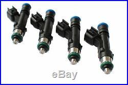 GENUINE BOSCH 1000cc EV14L EV6 High Performance Fuel Injectors SET OF 4