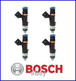 GENUINE Bosch 0280158117 550cc 52lb EV14 Fuel Injectors (4)