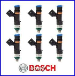 GENUINE Bosch 0280158117 550cc 52lb EV14 Fuel Injectors (6)