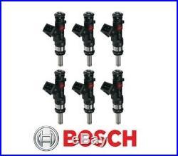 GENUINE Bosch 0280158123 590cc 56lb Long Nozzle EV14 6-Hole Fuel Injector (6)