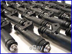 GENUINE SIEMENS DEKA 60LB 630cc EV1 Fuel Injectors 107961 VW Audi Bosch 1.8T4
