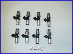 Genuine Bosch 210lb 2200cc 210# fuel injectors 11-17 Mustang GT Coyote 5.0 dohc