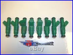 Genuine Bosch 42lb Green Giant Fuel Injectors NEW 42 lb/hr LS1 LT1 Chevy 440cc 8