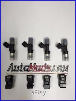 Genuine Bosch 60lb 630cc EV14 Fuel Injectors 1.8T turbo Golf Audi A4 GTI Jetta
