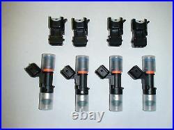 Genuine Bosch EV14 52lb 550cc fuel injectors 2000-2009 SAAB 9-5 2.3T 2.0 turbo