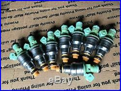 Genuine Bosch Fuel Injector 160Lbs 1600cc CNG Alcohol E85 Set Of 8