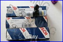 HONDA ACURA TURBO BOSCH 205lb 2200cc DENSO FUEL INJECTORS (4) SHORTY K SERIES