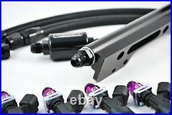 Honda Acura B series BOSCH 1000cc fuel injectors rail fuel line b16 b18 b20 GSR
