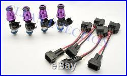 Honda Civic Acura RSX K20 K24 R18 750cc Bosch Fuel Injectors Engine Motor Accord