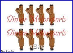 Lifetime Warranty 30lb 315cc 7.5L 5.0L V8 Genuine Bosch Fuel Injector Set