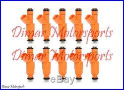 Lifetime Warranty GENUINE BOSCH Fuel Injector Set of 10 0280155917