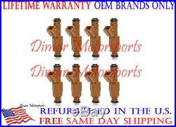 Lifetime WarrantyFord Mustang V8 30# GENUINE BOSCH Fuel Injector Set
