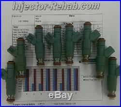 MerCruiser Fuel Injectors 885176 9-33102 2002-2009 350 MAG MPI # 0M3000000+