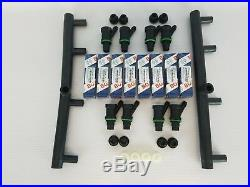 Mercedes Benz W126 126 380 500 SEL SEC CIS Fuel Injector Replacement Bosch Kit