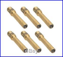 Mercedes W201 W126 W124 Fuel Injector CIS Set of 6 BOSCH 000 078 56 23
