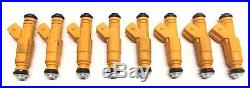Motor Man 1996-2000 GMC 7.4L MPI Upgrade Fuel Injectors Flow Matched Set of 8