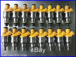 Motor Man Bosch Fuel Injector Set Primary & Secondary Corvette ZR1 1990-19