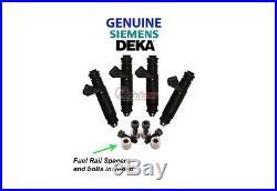 NEW GENUINE SIEMENS DEKA 630cc Fuel Injectors 107961 VW Audi Bosch 1.8T AGU 4