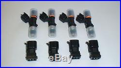 NEW Genuine Bosch EV14 52lb 550cc fuel injectors 2002-11