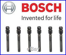 NEW Set of 6 Fuel Injectors OEM Bosch 0437502004 For Porsche 911 Saab 900