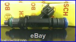 New Ford Racing M-9593-LU34A Fuel Injector Set 35 lb EV14 0280158227 BR3E-E5A