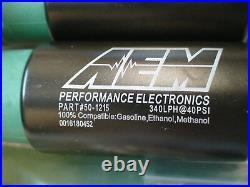 New ID1050X fuel Injectors, AEM 340lph pump 2007-20 Subaru WRX STi 2.5 H4 turbo