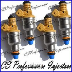 OEM Bosch Fuel Injectors Set (4) 0280150761 for 89-94 Saab 900 2.0L Turbocharged
