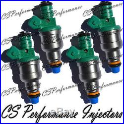 OEM Bosch Fuel Injectors Set (4) 0280150804 Rebuilt by Master ASE Mechanic USA