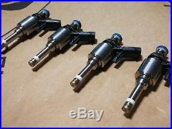 Oem Audi Seat Vw (bosch) 2.0l Tsi Tfsi Fuel Injectors 4 Pcs New! 06l906036h