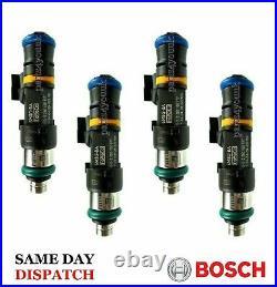 R53 MINI Cooper S / Focus ST225 Genuine Bosch 550cc Fuel Injectors Full Set of 4